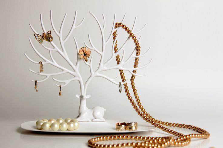 My Deer accessories tray - Qualy.  Het gewei van dit hert is perfect geschikt voor al je accessoires, zoals sieraden of sleutels.