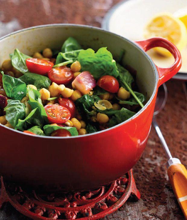 Vegetarisch stoofpotje