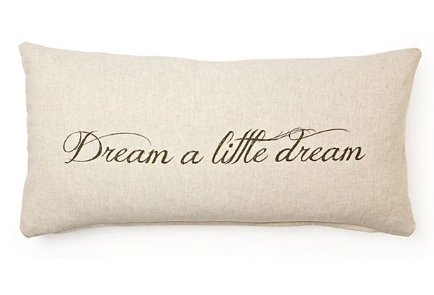One Kings Lane - Neutrals with a Twist - Dream 12x24 Cotton Pillow, Natural