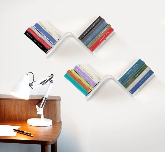 Conceal Shelf | 20 Brilliant Bookshelves