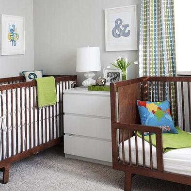 101 best light gray nursery ideas images on pinterest for Modern grey nursery