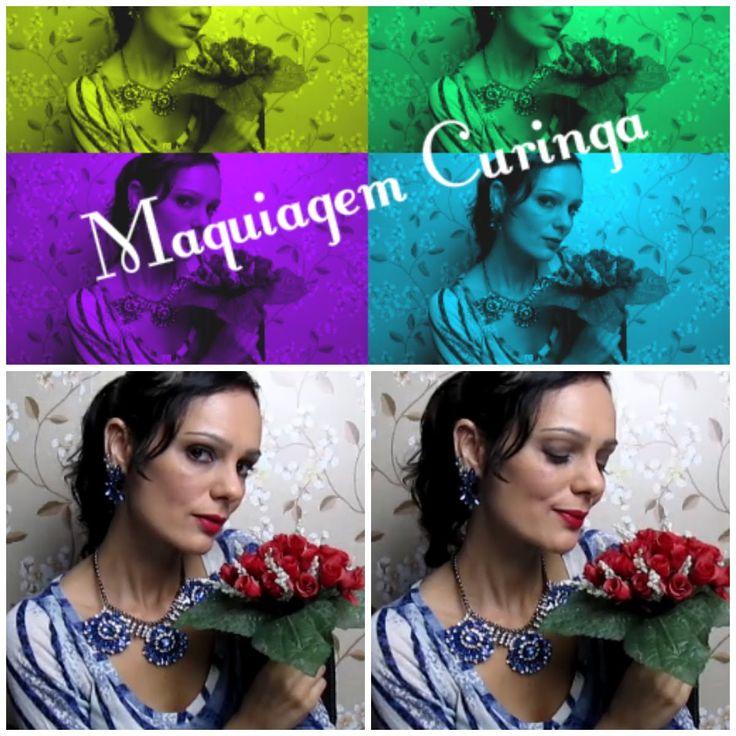 MAKE CURINGA - simples e para qualquer ocasião   Luciana Queiróz