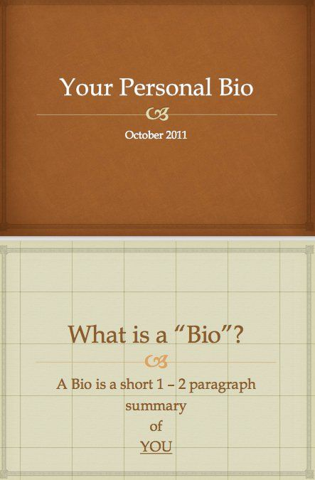 22 best Personal BIO images on Pinterest Life coaching - biography template microsoft word