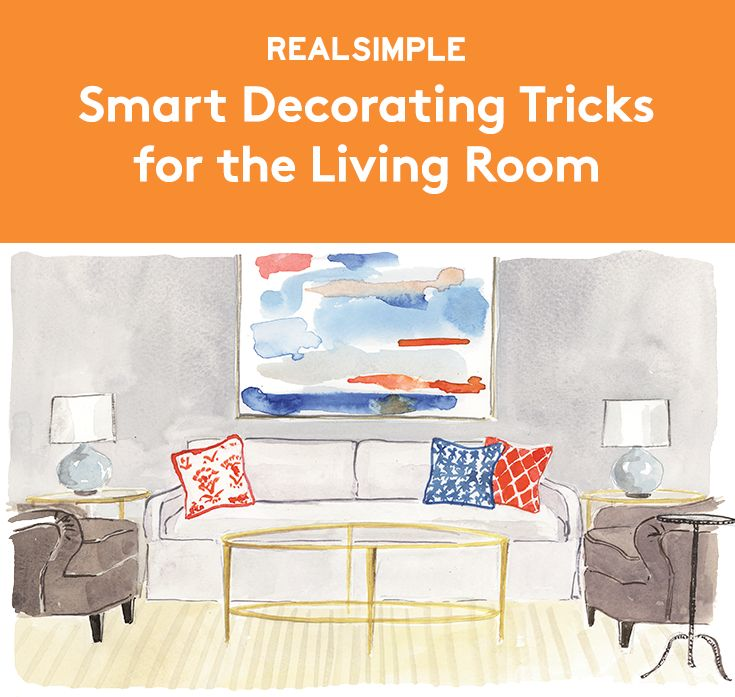 Smart Decorating Tricks for the Living Room | Striking a balance between comfort and design in this hardworking area can be a challenge. Decorator Brad Ford (bradfordid.com) has your number(s) for living in harmony, whether your space is symmetrical or free-form.