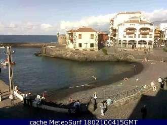 Webcam Puerto de la Cruz Tenerife