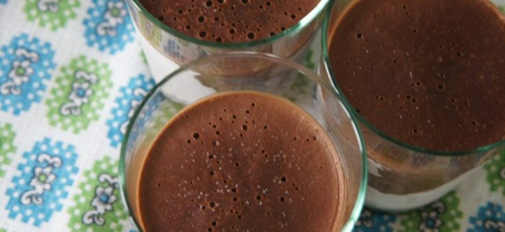 suikervrij chocoladeijs