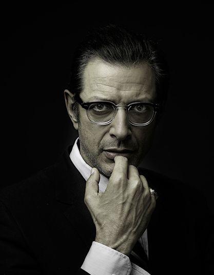 Jeff Goldblum like a woman