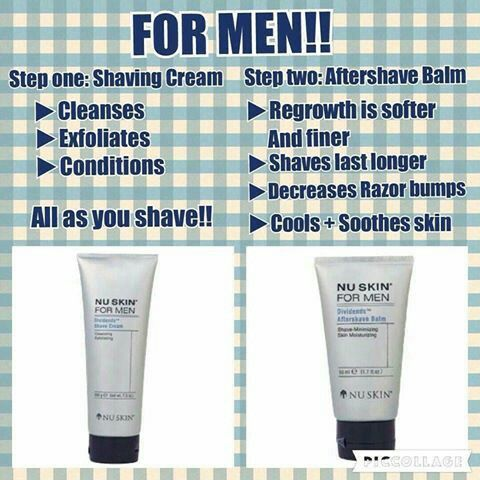 If you are a man who wants to shave, cleanse & exfoliate all at once with the NU Skin Dividends Shaving Cream and Aftercare Balm. Just visit the Muslim website https://www.nuskin.com, choose your country, search for the product (and others if you like) and once you're at the checkout, enter in my Distributor ID: UK3503908 for a MASSIVE discount