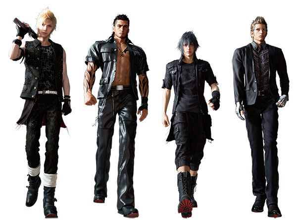 final fantasy 15 how to change outfit