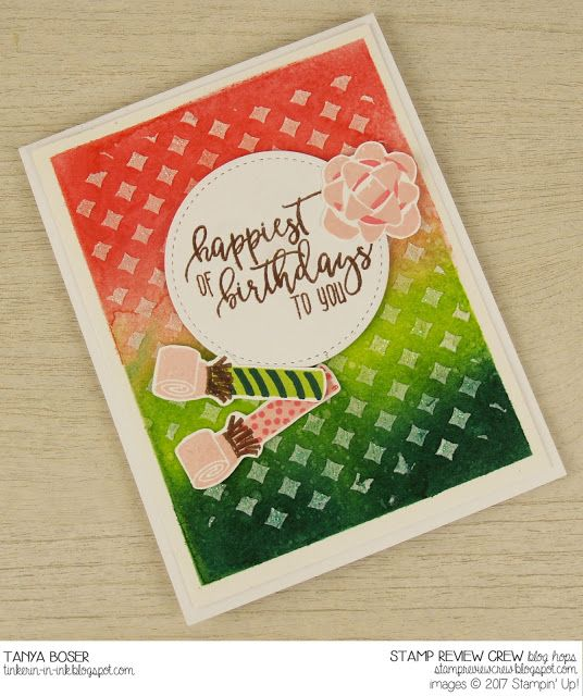 Tinkerin In Ink with Tanya: Stamp Review Crew: Picture Perfect Birthday