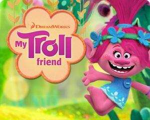 DreamWorks Create - Troll Friend Create & Print