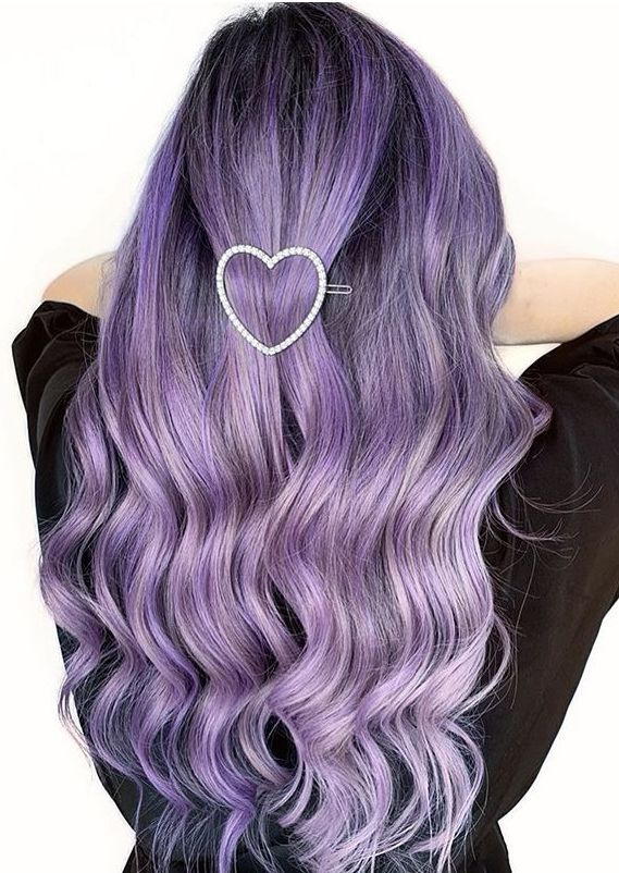 Latest Purple Hair Colors And Hairstyles For Women 2020 Voguetypes Hair Color Purple Hair Styles Purple Hair