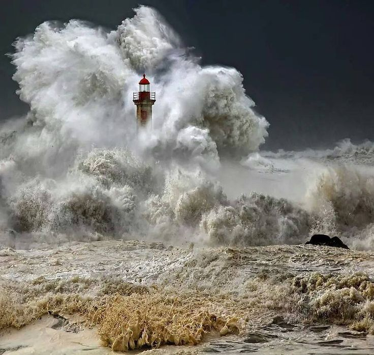 """Night Storm … """"There are three things all wise men fear: the sea in storm, a night with no moon, and the anger of a gentle man.""""  ― Patrick Rothfuss, The Wise Man's Fear (2011)  Bell Rock Lighthouse, Angus, Scotland"""