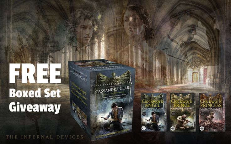 Young Adult Infernal Devices Giveaway  http://purplepress.org/giveaways/young-adult-infernal-devices-giveaway/?lucky=980