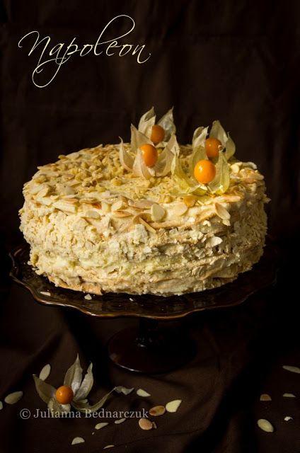 Obiad gotowy!: Napoleon - przepyszny rosyjski tort