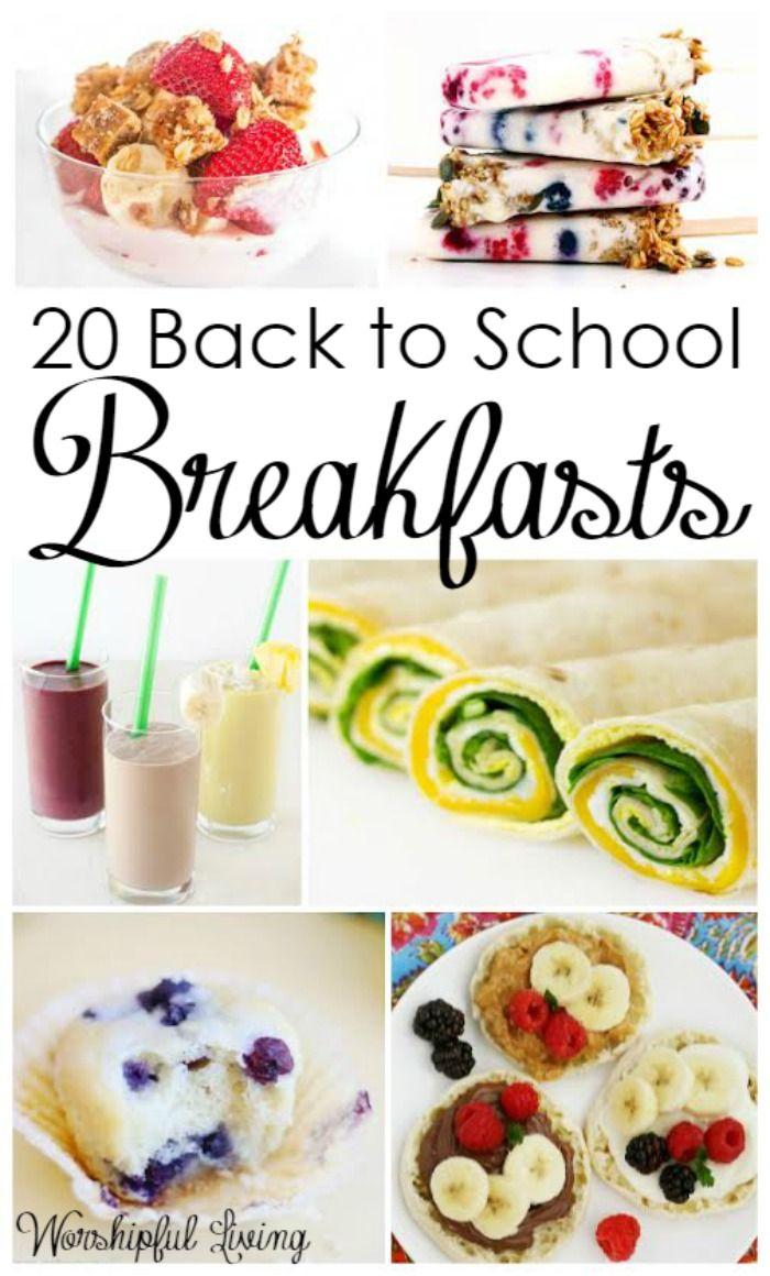 17 best ideas about school breakfast easy school 20 back to school breakfasts