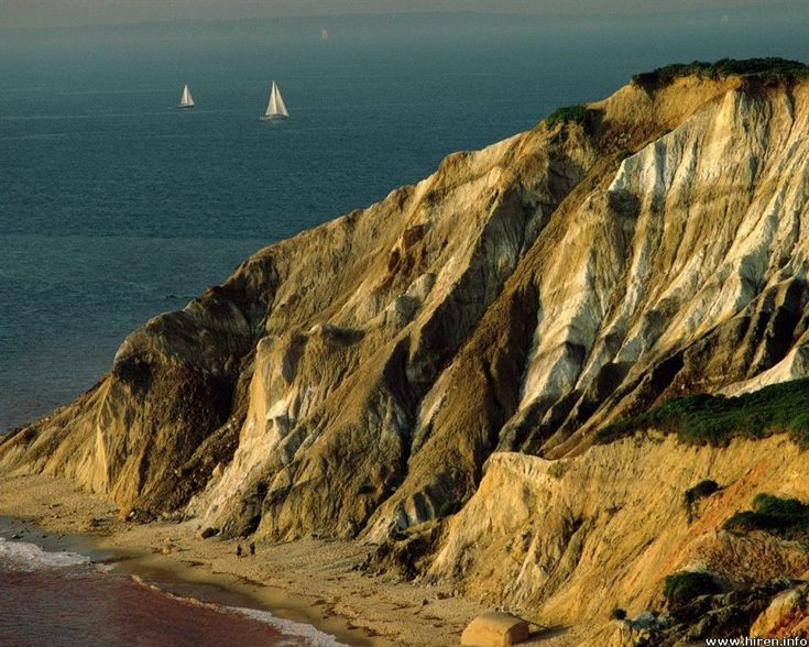 Aquinnah, though on my visits it was known as Gay Head (seriously)   Martha's Vineyard, Massachusetts, USA