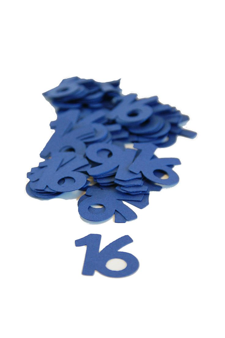 16 Confetti ~ Sweet 16th Birthday ~ Boy Birthday ~ Multiple Colors ~ Multiple Years ~ 16th Party Table Confetti ~ Decor ~ 50 Pieces by KendollMade on Etsy https://www.etsy.com/listing/235240787/16-confetti-sweet-16th-birthday-boy