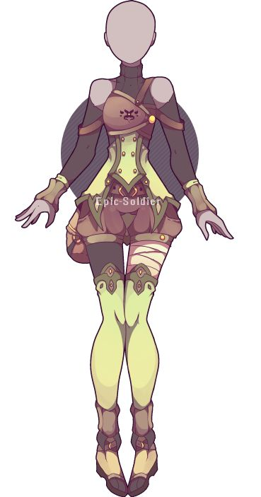 Outfit adoptable 31 (OPEN) by Epic-Soldier.deviantart.com on @DeviantArt