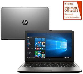 HP 17 Laptop Intel Core i3 8GB RAM 1TB HD Life TimeTech & MS Office 365