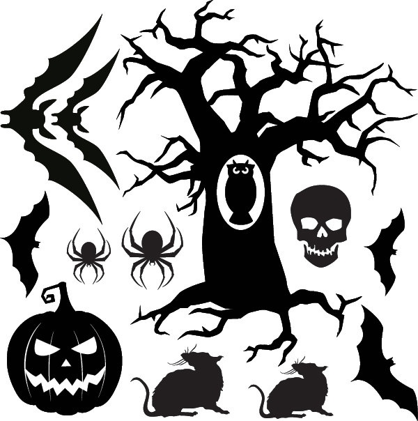 Halloween Vinyl Decals For Your Wall Or Window