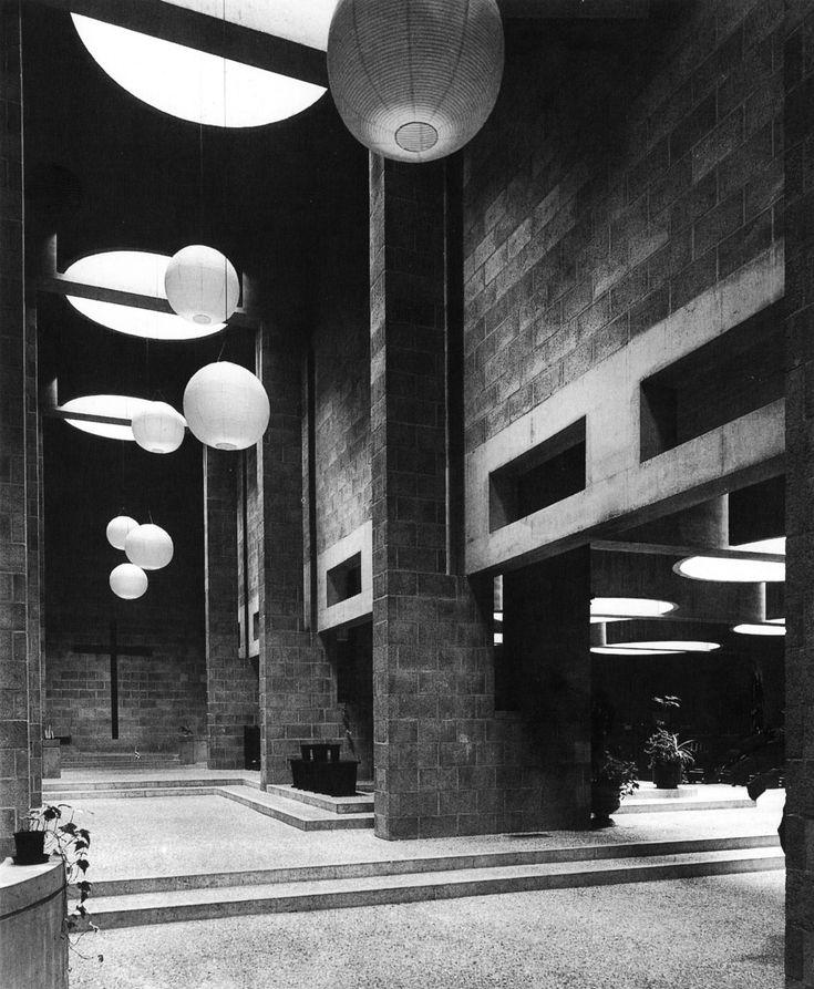 Roman Catholic Church, The Hague, Netherlands, 1964-69 (Aldo Van Eyck)
