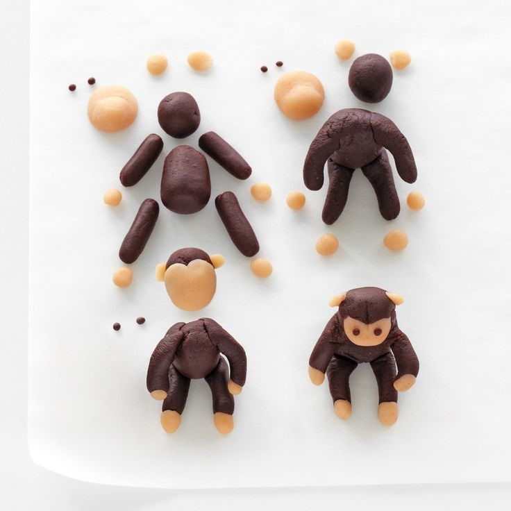 Make Marzipan Cake Figures