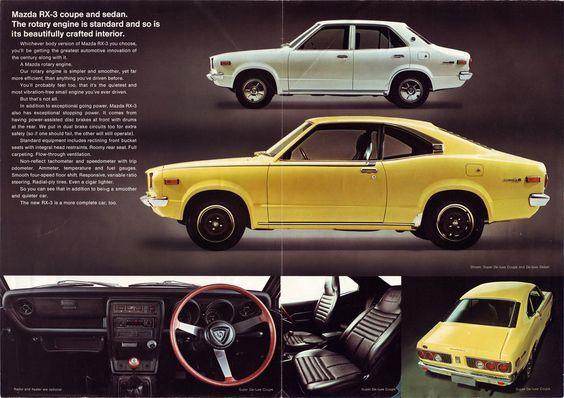 Mazda RX-3 brochure