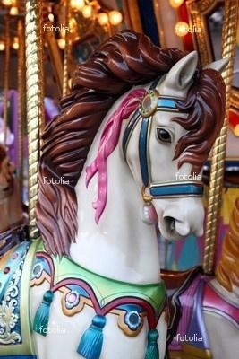 Love carousel horses.  So pretty and full of fantasy fun.