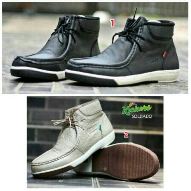Saya menjual Sepatu KICKERS Semi Boots Pria Murah Kerja Santai Kampus Kuliah Jalan Formal Kantor Outdoor seharga Rp259.000. Pin:331E1C6F  WA/SMS: 085317847777 LINE: Sepatu Aneka Model www.butikfashionmurah.com Dapatkan produk ini hanya di Shopee! https://shopee.co.id/sepatu_dan_jam_tangan/15052234 #ShopeeID