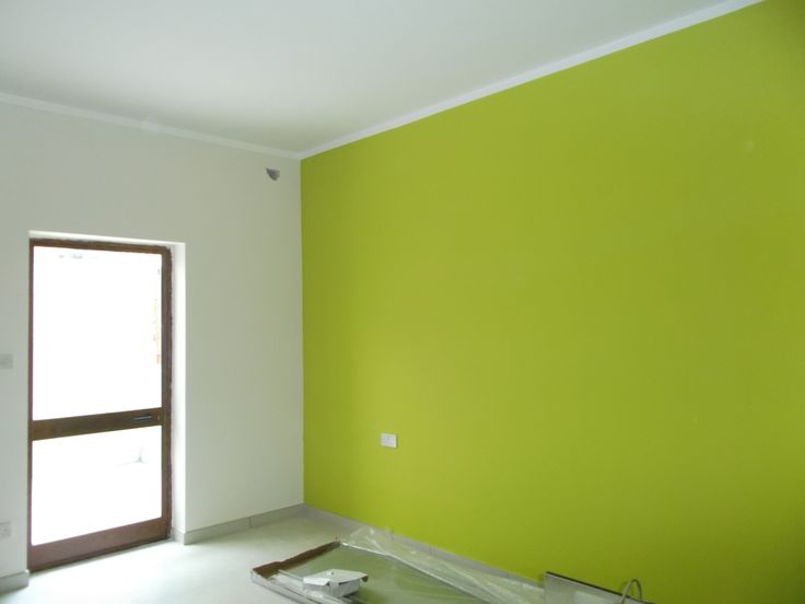 Groovy colour in the bedroom