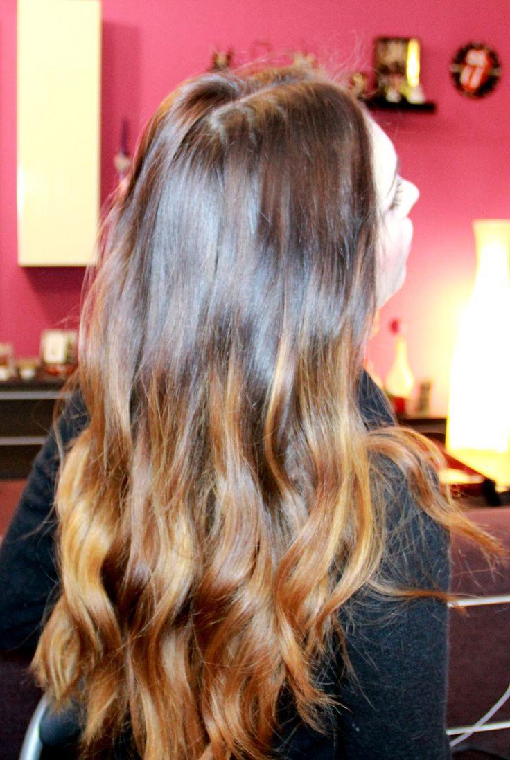 Cheryl's Pandemonium: DIY: Ombré hair a casa propria - Base castano cioccolato, shatush rame