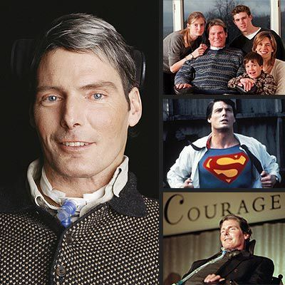 Christopher Reeve  September 25, 1952 - October 10, 2004 He was amazing and he truly was Superman