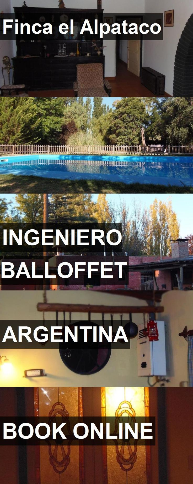 Hotel Finca el Alpataco in Ingeniero Balloffet, Argentina. For more information, photos, reviews and best prices please follow the link. #Argentina #IngenieroBalloffet #travel #vacation #hotel