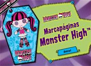 juegos monster high marcador de paginas