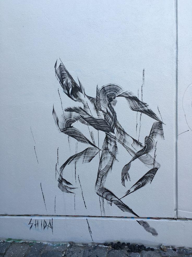 Street Art, Argyle Street, Fitzroy, Victoria, Australia. Pinned by Della Ng