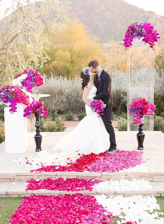 1000 ideas about magenta wedding on pinterest magenta for Magenta dress for wedding