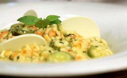 Risoto de legumes do chef Claude Troisgros - Receitas - Receitas GNT