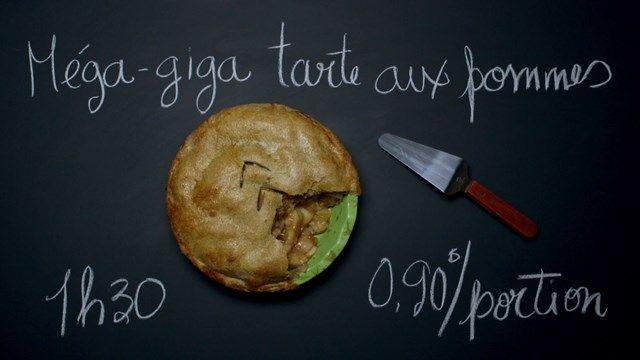 Méga-giga tarte aux pommes | Cuisine futée, parents pressés