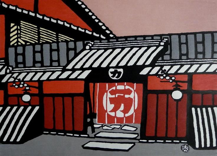 Historic Ichiriki Tea house Gion, Kyoto — Minagawa Taizo