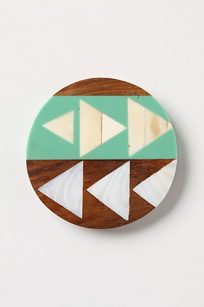 Really cute coasters.: Resins, Anthropology Com, Colors Schemes, Home Kitchens, Anthropology Europe, Design, Coasters 10, Wood Coasters, Symbolog Coasters