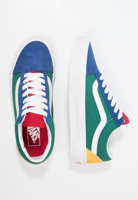 f09a9d2d5f2cd8 Chaussures Vans UA OLD SKOOL - Baskets basses - blue green yellow  multicolore  79