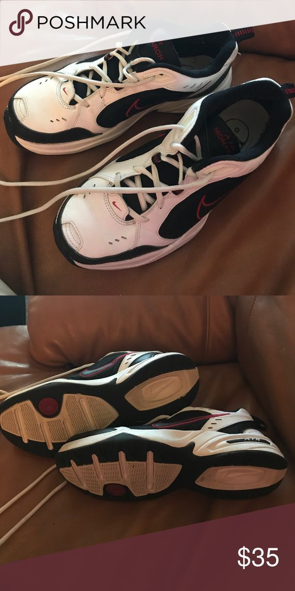 Gently worn Nike Air Monarch shoes In good condition worn a few times. Smoke and pet free home. Any questions feel free to ask. Nike Shoes Sneakers