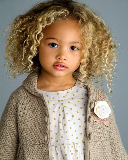 Little Girl Beautiful Curly Hairstyles 2015   Full Dose