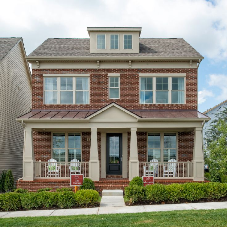 44 best home exteriors images on pinterest home for Winchester homes cabin branch townhomes