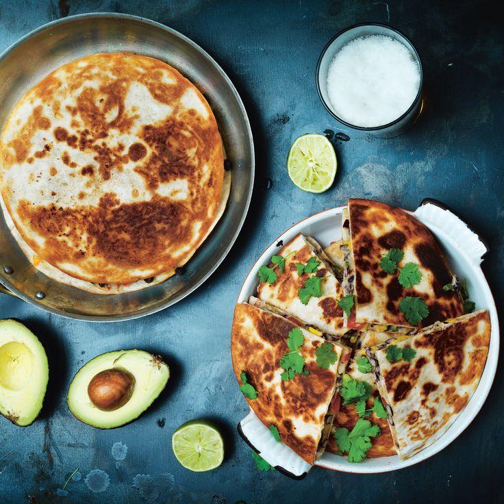 Quesadillas för dig som är vegetarian eller vegan! Mattiasbeandillas är underbart enkla att tillaga och passar perfekt till fredagsmyset, här är receptet.