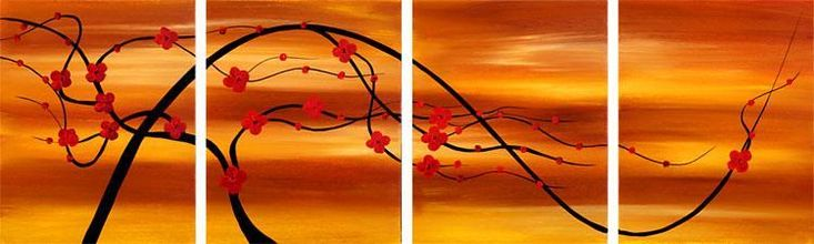 Dafen Oil Painting on canvas flower -set098 [set098] - $76.00 : Modern oil paintings,abstract oil paintings, handmade oil paintings wholesale and retail,custom oil paintings,oil paintings reproduction