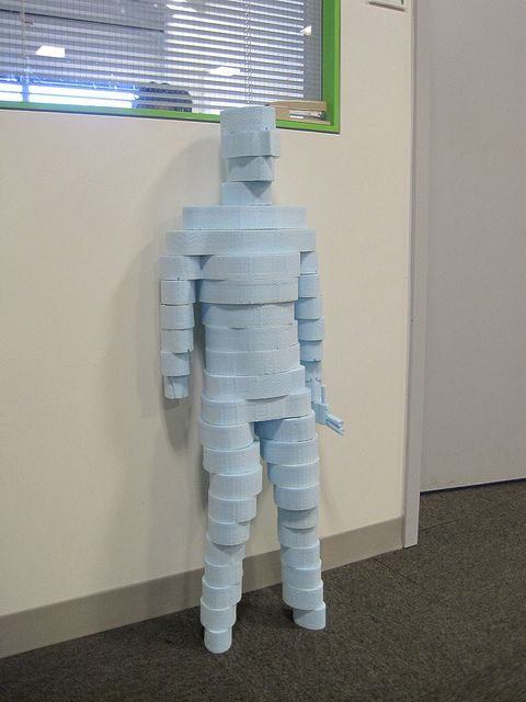 Meet The Guard, a #Maker class project by student Sujoy Chowdhury.