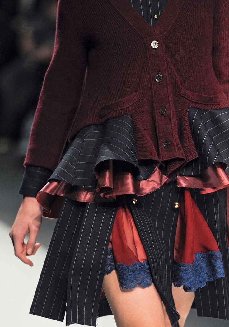 detail ... Sacai Fall 2012 RTW - Review - Collections - Vogue