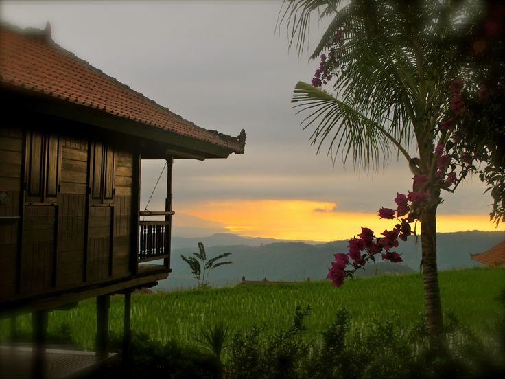 L'hôtel à Munduk (dans le style de Grenier à Riz)